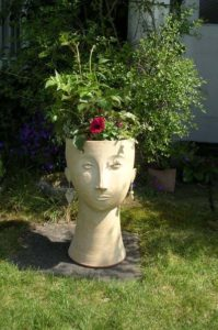 Flora large head planter